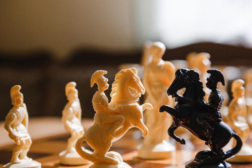 Schach-Glücksspiel